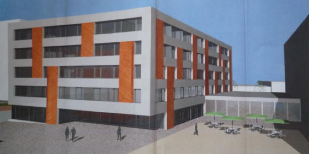 Immeubles administratifs à Sion (2012)