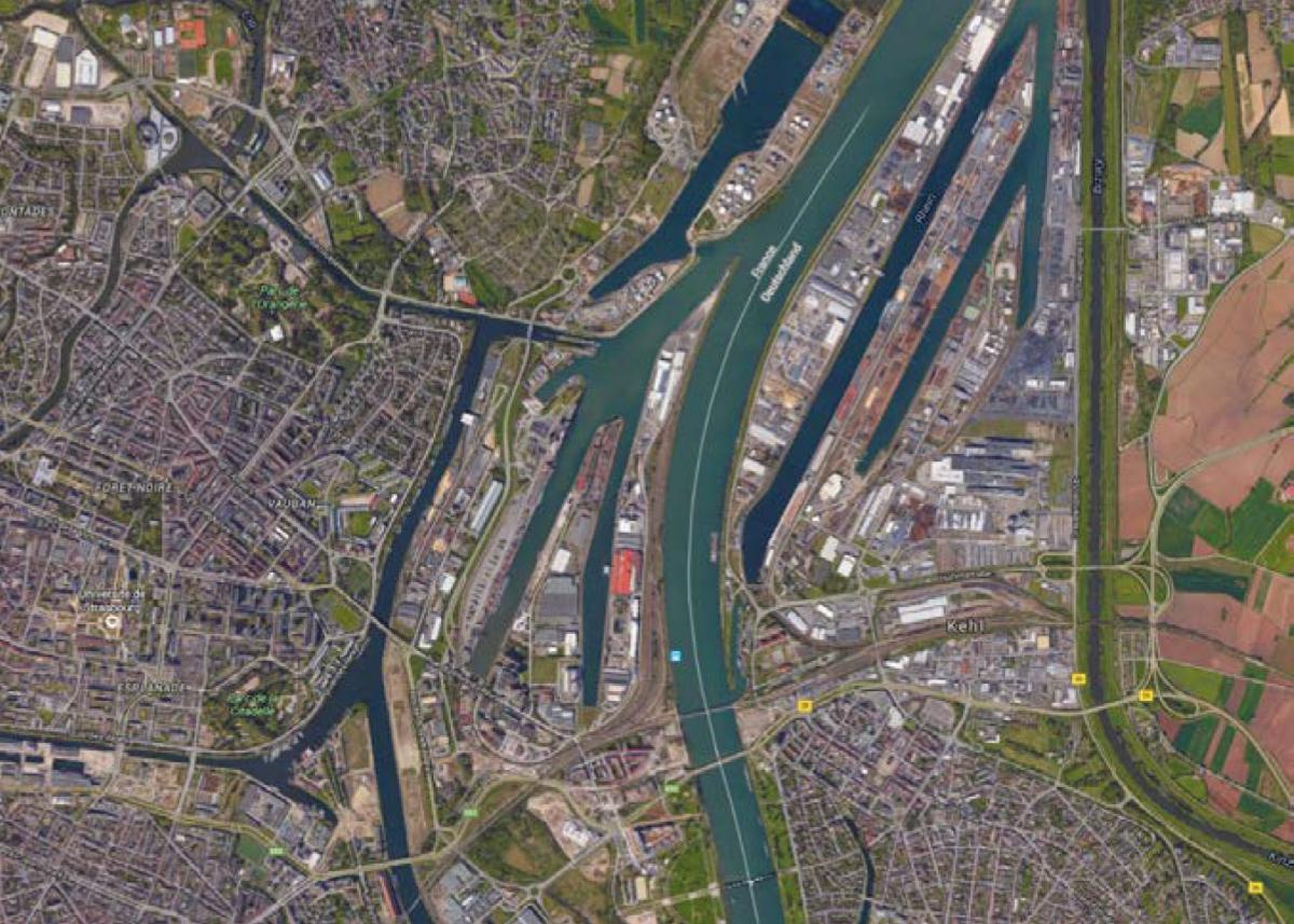 Port de France - Zone portuaire de Strasbourg