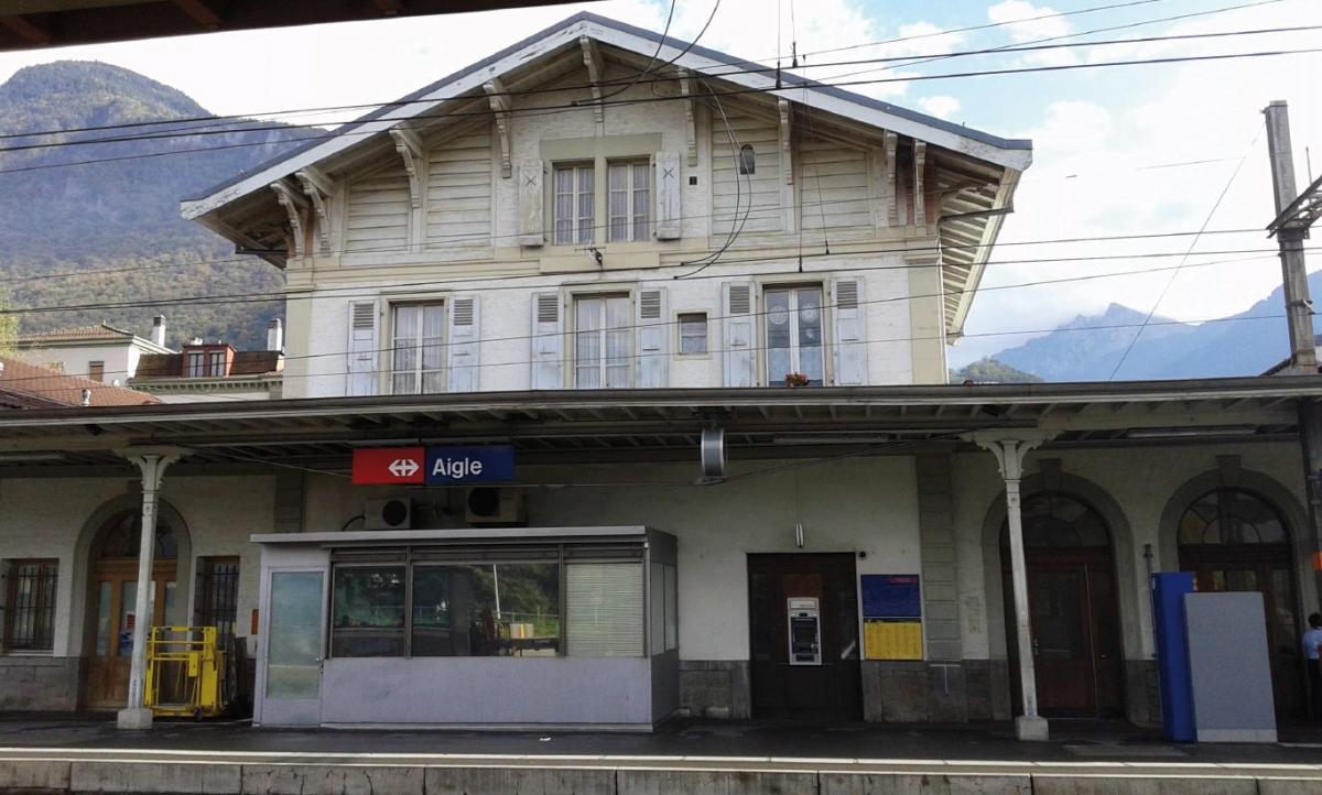 Gare CFF – Aigle, concept énergétique