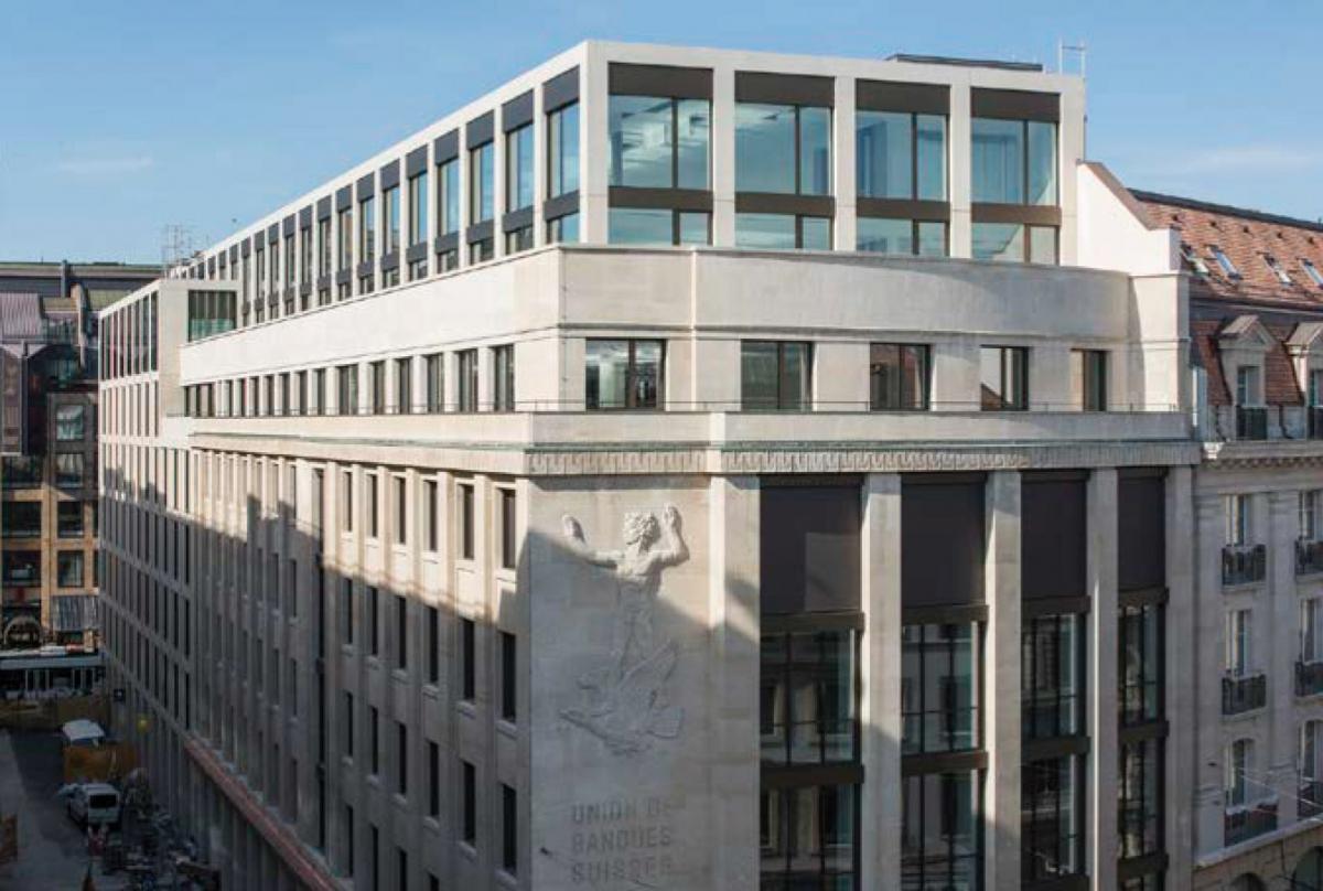 UBS Rhône 8 à Genève