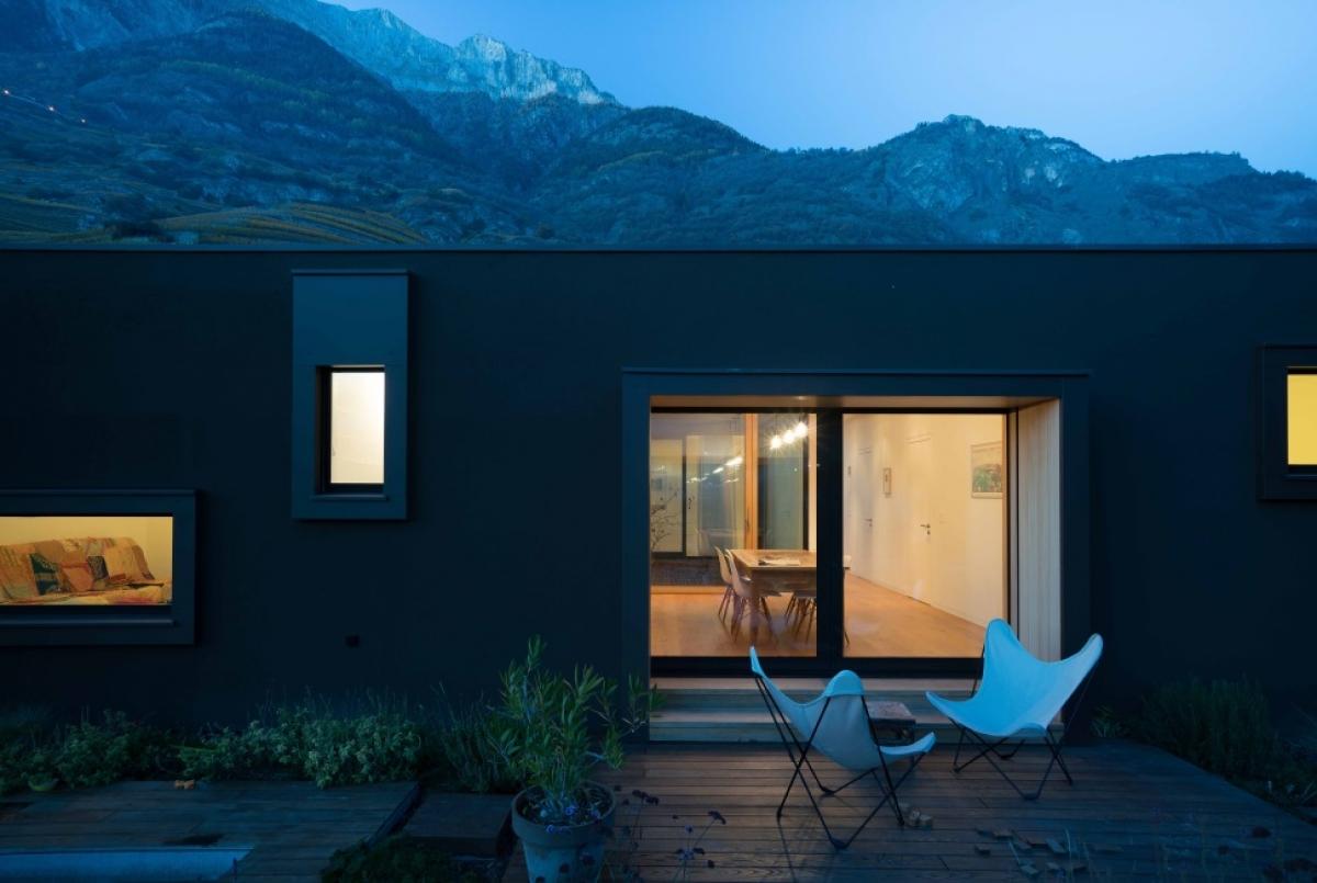 Maison Meilland en Valais