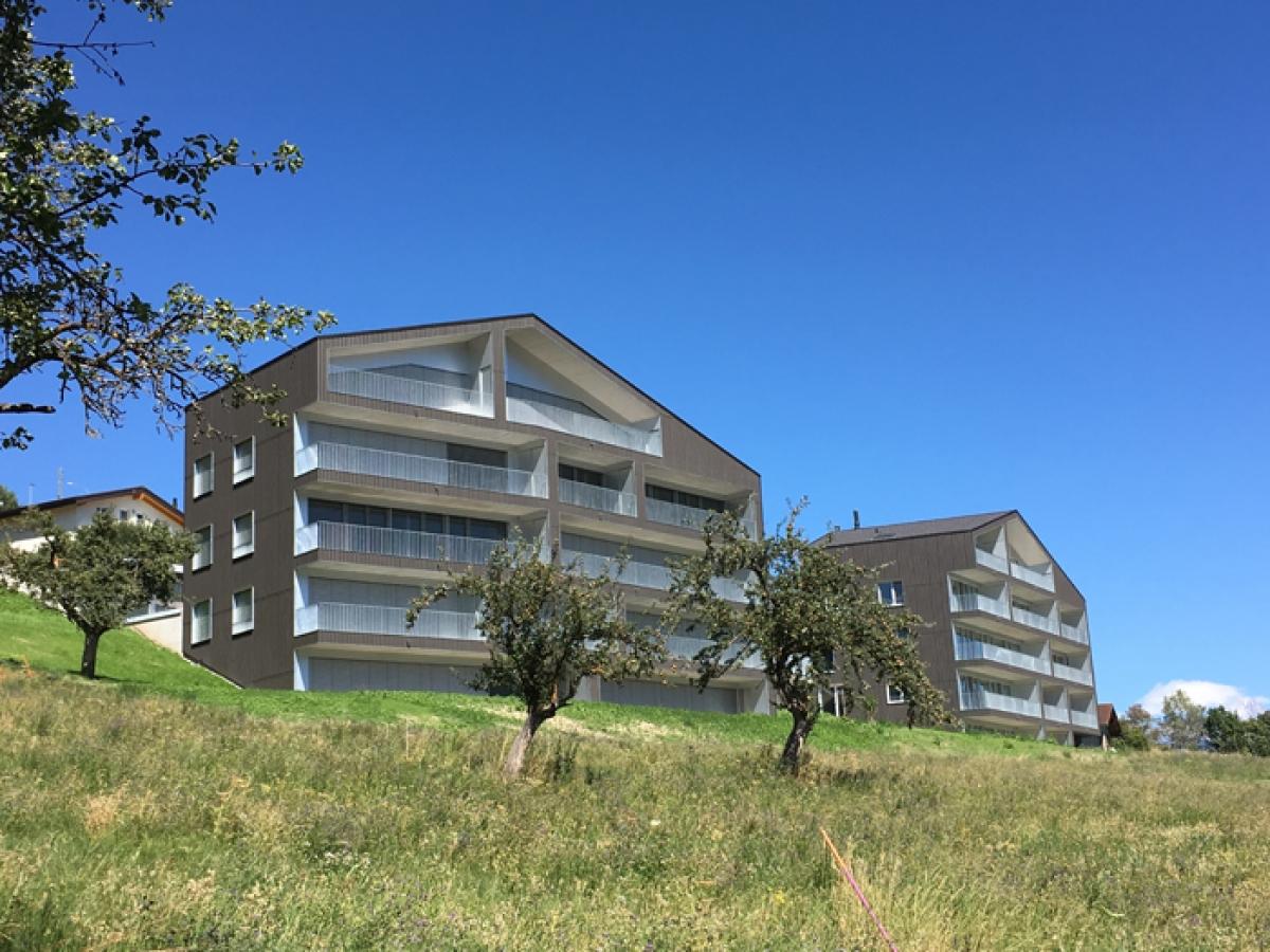 Immeubles Harroz à Chermignon