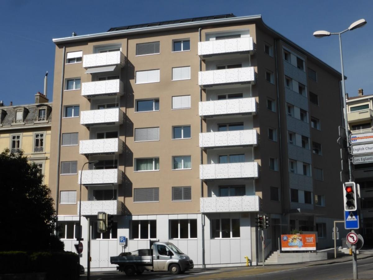 Transformation immeuble Chenevières 11 à Vevey