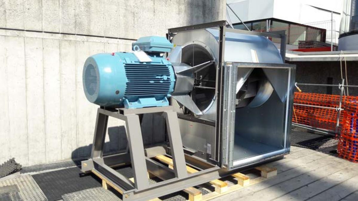 CHUV – Assainissement des ventilateurs PT 2-3-4-5